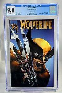 Wolverine #8 CGC 9.8 Clayton Crain #350 Homage Trade Variant