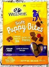 Wellness Soft Puppy Bites Natural Grain Free Puppy Training Treats Lamb Salmon
