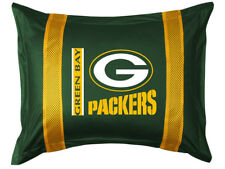 NEW GREEN BAY PACKERS Sidelines NFL Jersey Pillow Sham