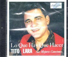 """TITO LARA - """" LO QUE HAY QUE HACER"""" - CD"""