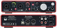 Focusrite Scarlett 2i4 USB Computer Recording Interface
