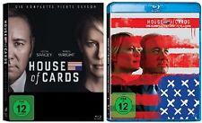 House of Cards Staffel 4+5 Blu-ray Set NEU OVP