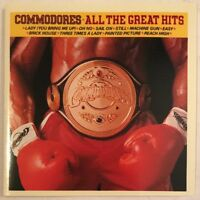 COMMODORES ALL THE GREAT HITS CD MOTOWN USA 1991 NEAR MINT