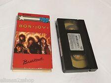 BON Jovi Breakout Sony EP 80's Metal 1984 1985 band HI FI VHS movie tape RARE