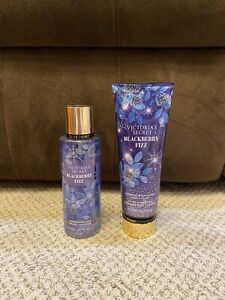 Victoria's Secret Blackberry Fizz Body Mist And Lotion