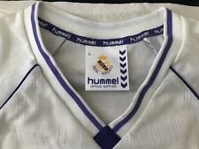 Vintage Real Madrid 90's Hummel Long Sleeve Jersey New!! Size M.