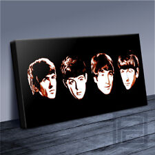 THE BEATLES leggende popolari Classico Britannico iconica Tela Pop Art-Arte Williams