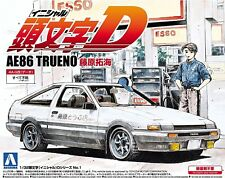 Aoshima Japan No.1 Initial D T.Fujiwara AE86 Trueno 1/32 scale kit