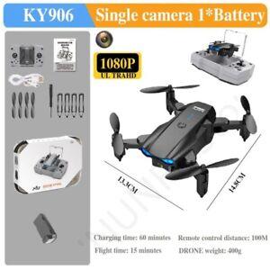 Mini Drone 4K Profesional HD Camera Wifi FPV Foldable Quadcopter Dron Real-Time