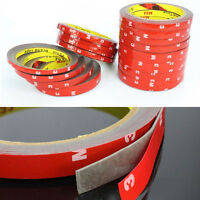 1Roll Double Sided Traceless Strong Stickiness Auto Car Self Adhesive Tape 3m