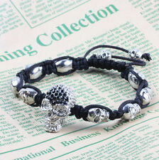 Shamballa Jewels Alloy Adjustable Costume Bracelets