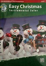 Easy Christmas Instrumental Solos (Cello with Piano Accompaniment)