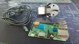 Raspberry Pi Model 3B+ Plus With Power Supply 3B +