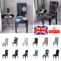 Universal Stretch Chair Covers Slipcover Dining Room Wedding Banquet Party Decor
