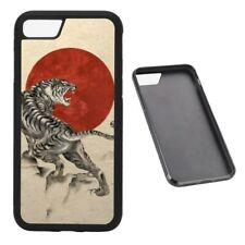 Japanese Tiger RUBBER phone case Fits iPhone