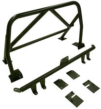 OBX Racing Sports Roll Bar & Seat Belt Bar Black Fits 00-09 Honda S2000