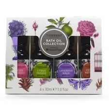 Tisserand Bath Oil Collection ( Rose, Citrus, Lavender, Cedar) 4x30ml