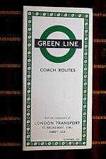 More details for london transport green line coach map nov 1953 1153/2385d/100,000