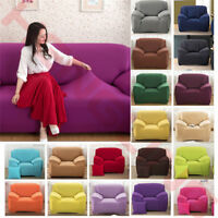 Elastic Sofa Cover Slipcover Stretch Couch Furniture Protector Fit 1 2 3 4 Seat