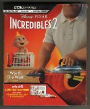 Disney Incredibles 2,4K Blu-ray, New, Target Exclusive, Free Shipping