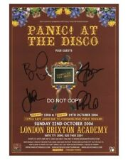 """Panic! at the Disco 8x10"""" Reprint Signed Autographed Photo #2 RP Brendon Urie"""