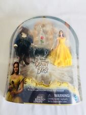 Nib Disney Beauty and the Beast Enchanted Rose Scene Doll Figure Hasbro