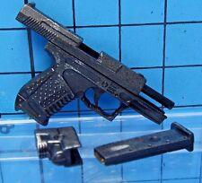 Figurefun 1:6 Black Warrior Underworld Figure - P99 Pistol + Laser