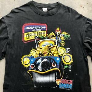 Rare VTG 90s Judge Dredd 1995 Movie Comic Video Game Promo T Shirt M/L