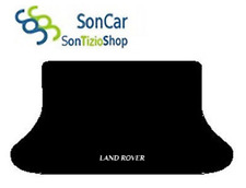 TAPIS TRONC LAND ROVER FREELANDER 1996-01 broderie : land Rover new blanc Coffre
