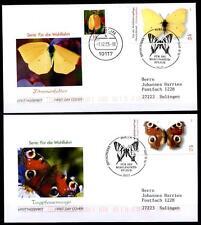 Schmetterlinge. 4FDC-Briefe. Berlin. BRD 2005