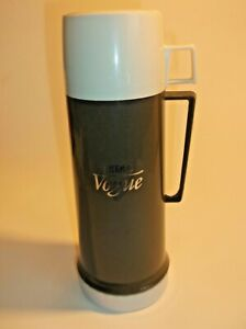 """VINTAGE THERMOS """"VOGUE"""" THERMOS FLASK FROM 1960s- 0.45 L CAPACITY-NICE RETRO"""