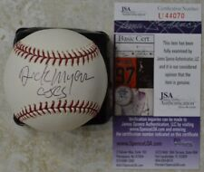"Richard ""Dick"" Myers Signed OMLB Baseball w/ JSA COA #U44070 CJCS General"