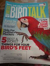 **BIRD TALK MAGAZINE Feb 10 Macaw Diet Cape Parrot Feather Picking Plucking Help