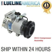 NEW AC DV13 COMPRESSOR 10980 FIT 2006 2007 2008 2009 2010 2011 Kia Rio Rio5 1.6L