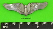 Army Air Corps Aerial Gunner Wing - Army Air Force AAF WWII 2 3/4 Wing