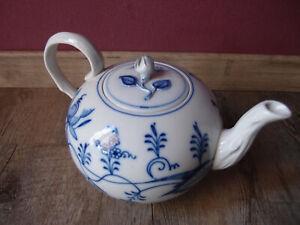 Alte Porzellan Kaffeekanne Teekanne Porzellanfabrik Ernst Teichert Meissen