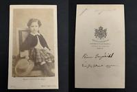 Mayer, Paris, Le prince Louis-Napoléon CDV vintage albumen print.Napoléon Eugè