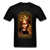 NEW Mens T-shirt NOTORIOUS BIG Michael Air Jordan Legend 23 Men Shirt Top Tumblr