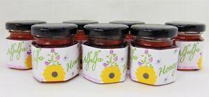 2 Ounce Alfalfa Honey - 7 Small Glass Jars