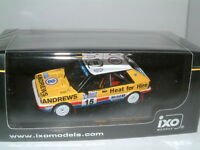1/43 LANCIA DELTA HF 4WD, RUSSEL BROOKES, ANDREWS HEAT FOR HIRE,1987 RAC RALLY
