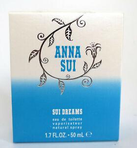 (GRUNDPREIS 99,80€/100ML) ANNA SUI DREAMS 50ML EAU DE TOILETTE SPRAY NEU & OVP