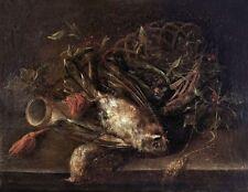 Künstlerische Öl-Malerei aus Holz vor 1700