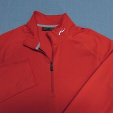 Kjus Poly Spandex 1/4 Zip Pullover-M-Stretch-Perfec t!-Looks Unworn!