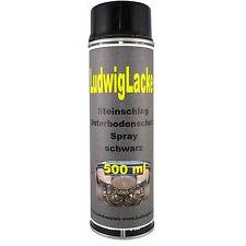 Steinschlagschutz Unterbodenschutz 1 x 500ml  Schwarz  Autolack