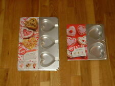 NEW LOT WILTON HEART CANDLES TREAT PAN VALENTINE'S DAY