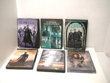 DVD Matrix Revolutions Reloaded Transformers Gladiator Lord of the Rings (6)