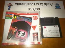 PC WILD STREETS DISK GAME AMIGA ATARI VERSION ESPAÑOLA