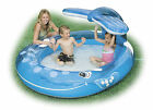 INTEX INFLATABLE WHALE SPRAY POOL CHILD TODDLER WADDING PLAY SWIMMING POOL