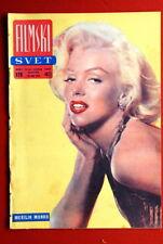 MARILYN MONROE COVER 1958 VERY RARE EXYU MAGAZINE
