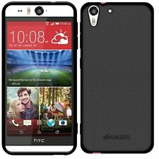 New Amzer Exclusive Pudding Matte TPU Back Case Cover For HTC Desire EYE - Black
